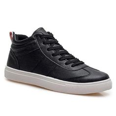 Trendy PU Leather and Tie Up Design Casual Shoes For Men http://picvpic.com/men-shoes/trendy-pu-leather-and-tie-up-design-casual-shoes-for-men#Black