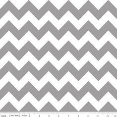 Gray Chevron Medium Riley Blake Designs RBD by FabricBubb on Etsy