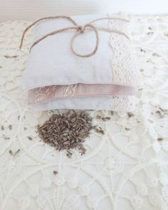 Bridal / Wedding Favors Lavender Pillow Bags Sachet Set of 3