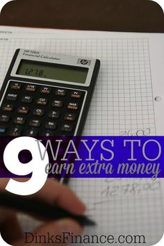We thought it would be fun to share some things we've done to make extra money on the side. Here are nine things we have done. Personal Finance #money