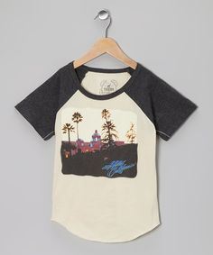 Take a look at this Ivy & Carbon Eagles 'Hotel California' Tee - Toddler & Kids on zulily today!