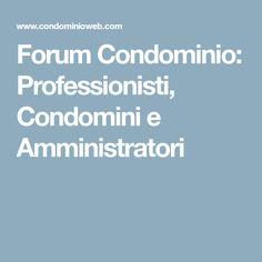 CONDOMINIO BALCONI Ripartizione spese balconi Pag. 1 Domande ...