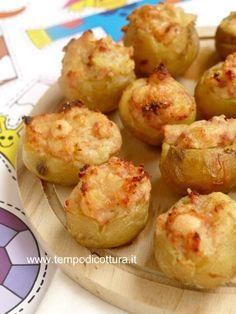 Mini patate farcite: un finger food per tutti!