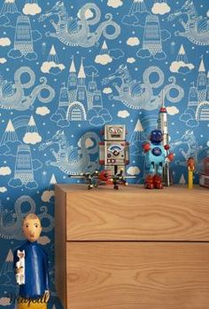 boysroom DRAKHIMLEN av Charlotta Sandberg