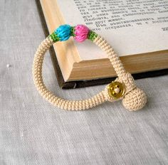 Baby Bracelet - Baby Jewelry - Crochet Bracelet - Baby Jewellery - Crochet Jewelry - Soft Cotton Baby Bracelet. $18.00, via Etsy.