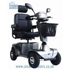 The Sterling S425 Mobility scooter is a compact, road-ready mobility scooter which comes fully loaded with two 55 amp batteries and a range of up to 26 miles on a full charge for £1,439.99 at smartscooters.co.uk.