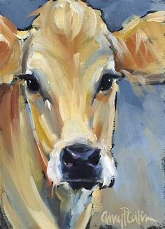 "Daily+Paintworks+-+""Frannie""+-+Original+Fine+Art+for+Sale+-+©+Amy+Collins"