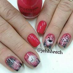 Colorful Nail Designs, Nail Art Designs, Love Nails, Fun Nails, Animal Nail Art, City Nails, Autumn Nails, Pastel Nails, Christmas Nail Art