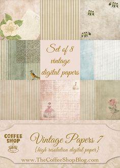 Scrapbooking TammyTags -- TT - Designer - The Coffee Shop Blog, TT - Item - Paper