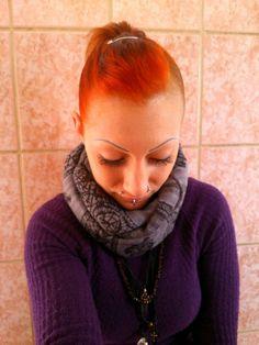 Celtic orange red hair ❤
