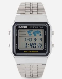 Image 1 of Casio Multi Function Silver Watch A500WEA-1EF