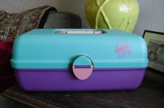 Vintage Caboodles by ANNandFAYE on Etsy, $24.00