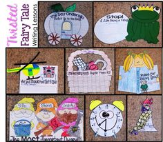 Twisted Fairy Tales - EASY and EFFECTIVE writing lessons and crafts!