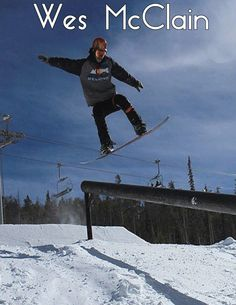Wes McClain -- Snowboarder -- Developmental Team