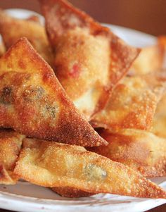Crispy Southwestern Wontons. Delicious quick dinner idea!