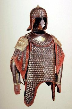 Officer of hussars karacena  (after Januszewscy) from the 2nd half of the seventeenth century. The collection of the Museum of the Polish Army in Warsaw.