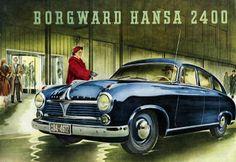 Borgward Hansa 2400 Prospekt