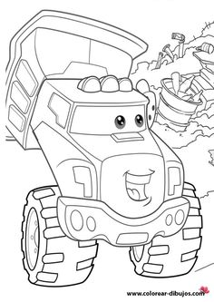 Chuck And Friends Coloring Pages Coloring Pages