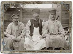 Жители Кашина на фотографиях Колотильщикова В.А., начало XX века