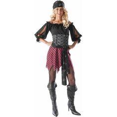 Pirate Wench Women's Adult Halloween Costume - Walmart.com