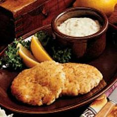 Golden Fish Cakes  Our family loves fish, so I've tried many recipes. I came up with this combination and it's been a hit at our house. It's outstanding served with corn bread.