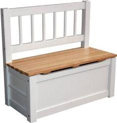 IB - Style - Meubles enfants NOA   3 combinaisons   Banc avec rangement avec une caisse à jouets intégrée - Chambre enfant Meuble enfant Mobilier Chaise d'enfant Baby: Amazon.fr: Cuisine & Maison