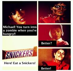 Eat a Snickers Mikey!!