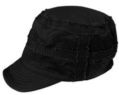 Capelli New York Twill Conductor With Frayed Seam And Elastic Back Black Capelli New York. $4.99