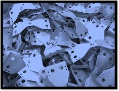 Sheet metal brackets manufactured in the UK to your own designs by V and F Sheet Metal for over 30 years. Types Of Sheet Metal, 30 Years, Wood, Design, Madeira, Woodwind Instrument, Wood Planks, Trees, Wood Illustrations