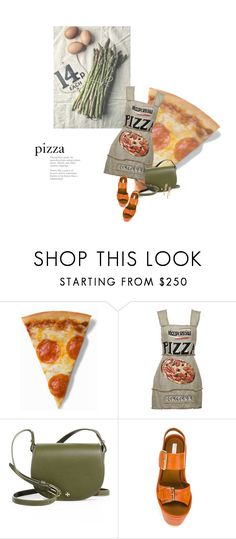 """❤ pizza"" by sharmarie ❤ liked on Polyvore featuring Dolce&Gabbana, Tory Burch, STELLA McCARTNEY and LE VIAN"