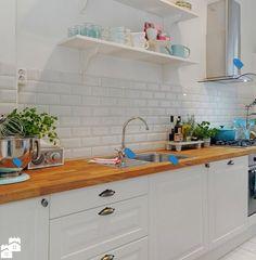Kafelki i cegły w kuchni - pytanie na forum od Aleksandra Beczała