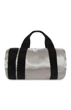 Primark - Silver Satin Gym Bag