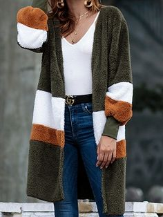 25 Marvelous Ways to Look Amazing This winter. Winter cardigan outfit ideas you've ever noticed are right this way. We are going to tell you the best winter cardigan outfits ideas to Try and Look Amazing this winter. Long Cardigan Coat, Fleece Cardigan, Pullover, Longline Cardigan, Cardigan Sweaters, Loose Sweater, Cardigans For Women, Coats For Women, Collarless Jacket