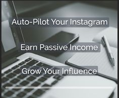 Did you know that you can earn money on Instagram?  Did you know that big brands are paying money to social influencers to promote their products?  If you want to build your following by putting your Instagram on steroids, click the link below. This is a great tool to have in your marketing tool box.   Http://residualempires.com/jvideo  P.S. This is an affiliate link:)