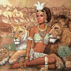 ❤ queen of the south queen of sheba lion queen