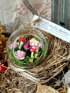 Fairy garden bauble - Nichola Battilana