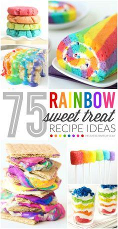 75 Rainbow Sweet Treats