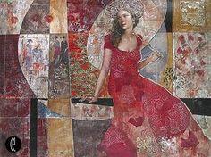 Risultato immagini per François Fressinier Steve Mccurry, 2d Art, French Artists, Figure Painting, Beautiful Artwork, Figurative Art, Creative Inspiration, Collage Art, Collages