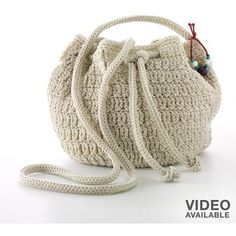 Drawstring bags, Crochet patterns and Patterns on Pinterest