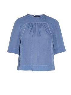 Midja bead-embellished silk top | Isabel Marant | MATCHESFASHION.COM US