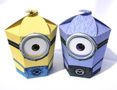 Despicable Me 2 - Inspired Minions LARGE Gift Box Set (Instant Download) on Etsy, $8.00