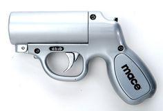 Mace Brand Pepper Spray Pepper Gun (Silver)