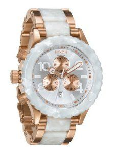 Nixon 42-20 Chrono Watch Rose Gold/White Granite, One Size NIXON. $331.50. Band color: white,rose gold. Model: A0371046. Brand:Nixon. Dial color: white rose-gold sub-dials. Condition:Brand new with Tags. Save 26% Off!