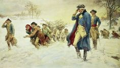 DEC. 19 - Valley Forge-soldiers died at rate of 12 per day - 'Feet and legs froze till they became black'