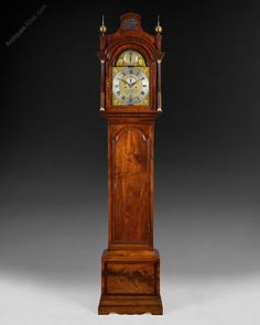 A fine London 8 day pagoda top longcase clock by Thomas Bawcutt, London. Hickory Dickory Dock, London Clock, Mantel Clocks, Antique Clocks, Oclock, Humble Abode, French Antiques, Antique Furniture, Period