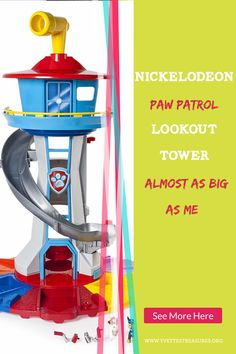 Paw Patrol toys are fun, affordable and great to play with. Paw Patrol has just come out with their new Lookout Tower, it's as big as a toddler. Take a look at these great Paw Patrol gift ideas and let me know what you think. Unique Gifts For Kids, Unique Christmas Gifts, Gifts For Teens, Kids Gifts, Paw Patrol Gifts, Paw Patrol Toys, Paw Patrol Lookout, Learning Toys For Toddlers, Lookout Tower