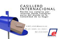 Esta #navidad puedes recibir tus compras por internet sin salir de tu casa. http://expresito.co/casillero.html Contáctanos e-mail: colombia@expresito.com  Tel. (57) 1 5404872 - (57) 1 2956512 / Cel. (57)350 5545478