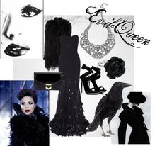 """""""Evil Queen-Once Upon A Time"""" by shaytalisvanity on Polyvore"""