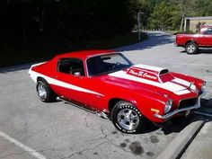 Classic Muscle Car, Camaro, Chevy
