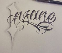 Chicano Lettering…